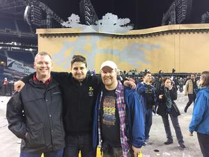 With fellow contributors to U2songs.com