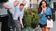 Nadia Forde in London. Picture: Splash News