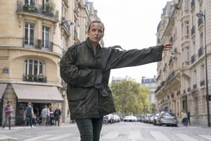 Villanelle, played by Jodie Comer, in the forthcoming second season of Killing Eve (Aimee Spinks/BBC America/PA)