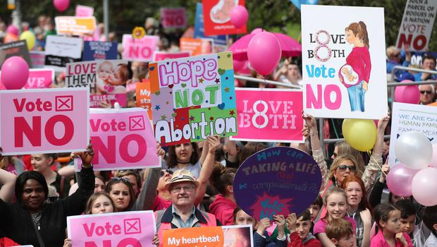 'The 33pc of Irish voters who took the pro-life route in the referendum have not become abortion advocates overnight, and they increasingly feel marginalised.' Photo: Niall Carson/PA