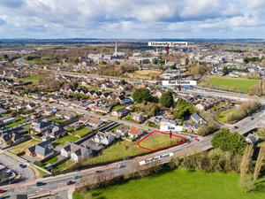 In demand: Ten parties fought for the Maynooth site, which made 42pc over reserve, representing perhaps the fastest-ever sale from bidding to signed contracts