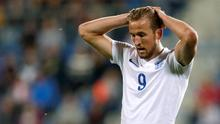 England's Harry Kane looks dejected during England's defeat to Portugal Action Images via Reuters / Carl Recine Livepic