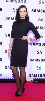 Karen Fitzpatrick at the exclusive launch party  for the Samsung Galaxy S6 at The Marker Hotel, Grand Canal Square , Dublin Pic:Brian McEvoy