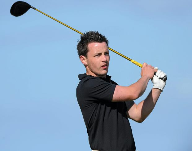 Daniel Holland of Castle GC returns to defend his title in the Mullingar Scratch Trophy this weekend. (Oliver McVeigh / SPORTSFILE)