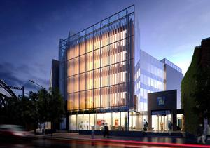 The new business school, designed by Scott Tallon Walker, is expected to cost €70m and is bounded by Pearse Street and the campus