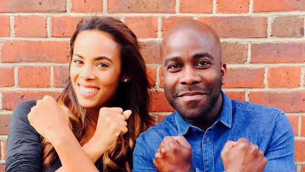 Saturdays star Rochelle Humes and Kiss FM DJ Melvin Odoom, who have signed on to present The X Factor's spin-off show