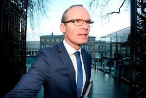 Minister for Housing Simon Coveney. Photo: Tom Burke
