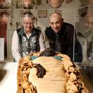 Window into past: Professor Rosalie David, Egyptologist and Emeritus Professor at University of Manchester and Dr Greer Ramsey, Curator of Archaeology at National Museums NI with Takabuti at the Ulster Museum, Belfast