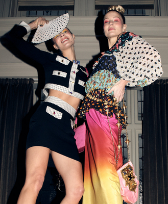 Christian Lacroix teamed up with Rixo