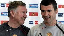 Alex Ferguson and Roy Keane in 2005