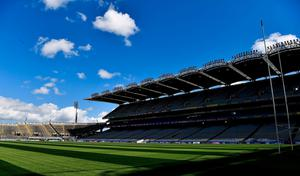 Park strife: Croke Park's pitch may remain empty until new protocols are in place. Photo: Ray McManus/Sportsfile