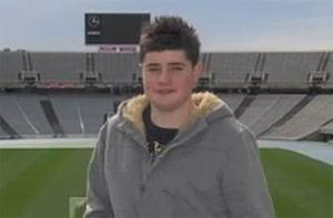 Neil Quinlan (16) complained of feeling unwell when hiking in Glendalough, Co Wicklow, on Tuesday.