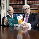 'Good work': Legal Aid Board chairman Philip O'Leary and Chief Justice Frank Clarke hailed the legal aid service's efforts. Photo: Iain White/Fennells