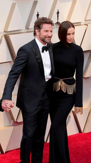 Bradley Cooper and Irina Shayk attends the 91st Annual Academy Awards at Hollywood and Highland on February 24, 2019 in Hollywood, California.  (Photo by Neilson Barnard/Getty Images)