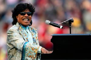 Trailblazer: Rock 'n' roll star Little Richard, who has died aged 87, set the template for many musicians who followed him. Photo: Andy Lyons/Getty Images