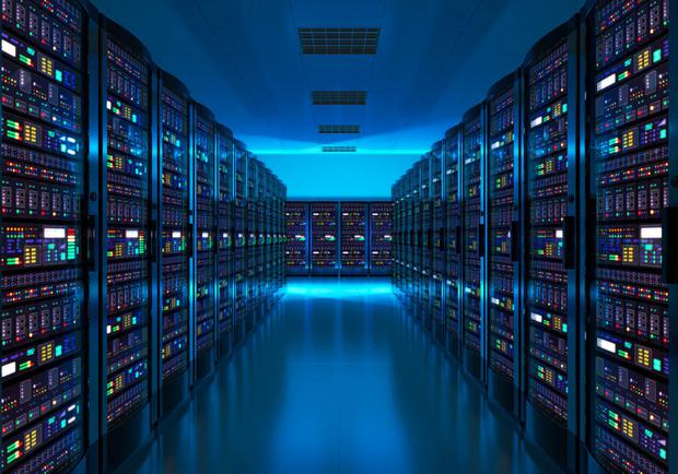 CyrusOne was founded in 2001 and is the third-largest data centre provider in the United States. Stock image