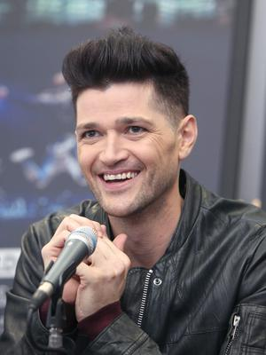 The Script's, Danny O'Donoghue, pictured at a press conference before their sold out concert in Croke Park. Picture credit; Damien Eagers 19/6/2015