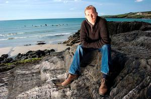 Author David Mitchell pictured in Clonakilty, west Cork