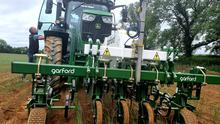 Hi-tech: The Garford Robocrop In-Row Weeder being used by Meade Potato Company in Meath