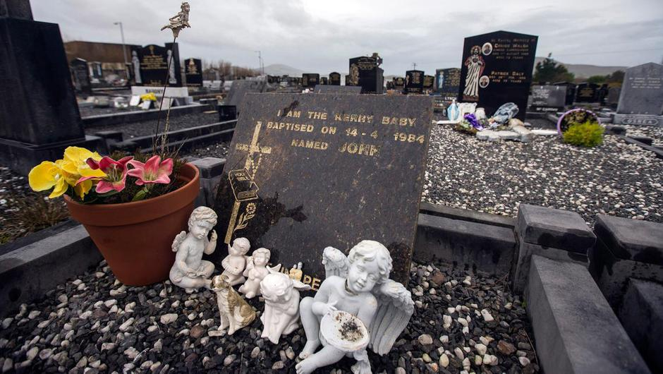 The grave of the Kerry Baby named John