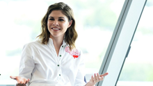 Founder and CEO, Into the Gloss and Glossier Emily Weiss speaks at the Fast Company Creativity Counter-Conference 2016 on May 24, 2016 in Los Angeles, California.  (Photo by Vivien Killilea/Getty Images for Fast Company)
