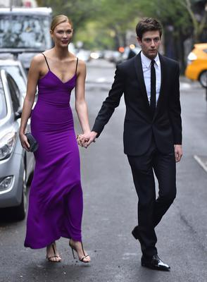 Karlie Kloss with her boyfriend Joshua Kushner in New York City