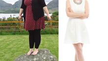 Amy O'Riordan before and after her weight loss
