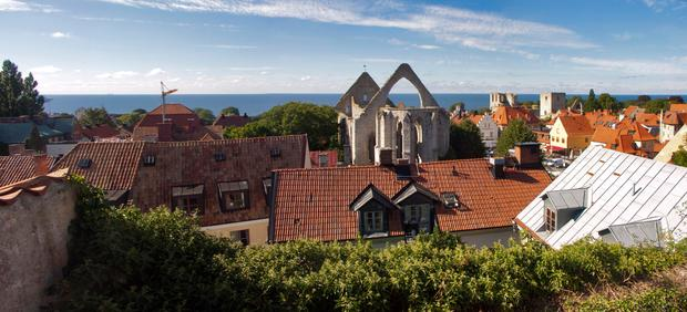 The Swedish medieval town of Visby
