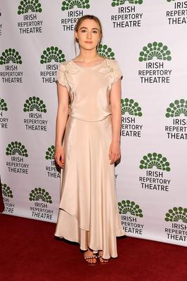 Actress Saoirse Ronan attends the 2016 Irish Repertory Theatre Gala Benefit of Finian's Rainbow: In Concert  at Town Hall on June 13, 2016 in New York City.  (Photo by Ben Gabbe/Getty Images)