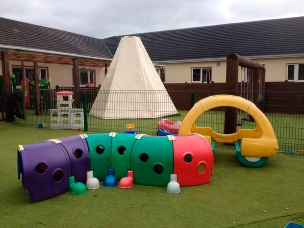 The Dun Beag crèche in Breanra, Dunmore, Co Galway