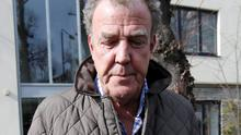 Television presenter Jeremy Clarkson leaves an address in London  REUTERS/Peter Nicholls