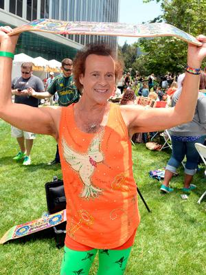 """Richard Simmons attends the Elizabeth Glaser Pediatric AIDS Foundation's 24th Annual """"A Time For Heroes"""" at Century Park on June 2, 2013 in Los Angeles, California.  (Photo by Michael Buckner/Getty Images for EGPAF)"""