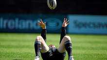 Munster's Mike Sherry warms up before squad training. Irish Independent Park, Cork. Picture: Diarmuid Greene/Sportsfile