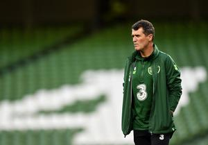 Roy Keane has been linked with a surprise move to take over Azerbaijan. Photo by Seb Daly/Sportsfile