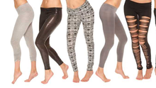 """'The past week The New York Times dedicated an entire article to the humble garment known as """"leggings""""'"""