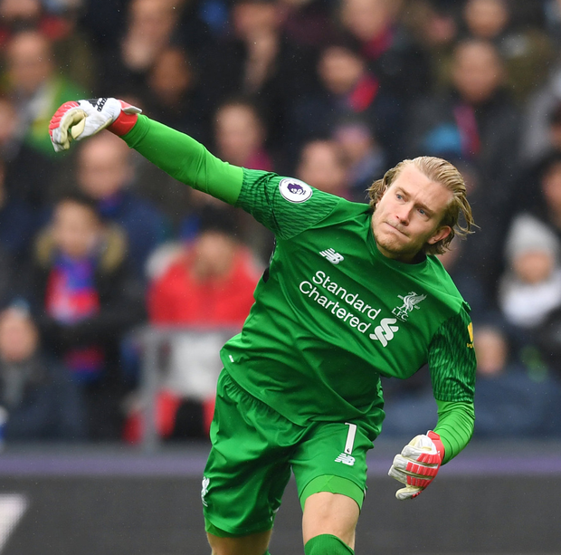 Liverpool's Loris Karius. Photo: Reuters