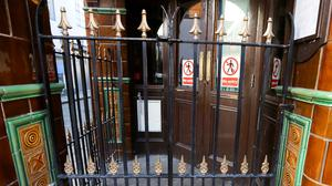 Pub doors have been locked since March. Photo: REUTERS/Lorraine O'Sullivan/File Photo