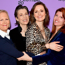 PARK CITY, UTAH - JANUARY 24: Director Phyllida Lloyd, Harriet Walter, Clare Dunne, and Sharon Horgan attend the