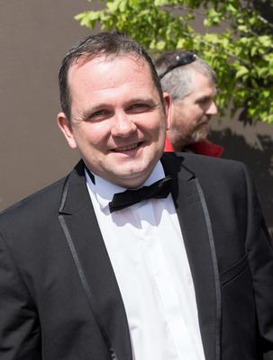 Davy Fitzgerald pictured at Mairead Farrell and Louis Ronan's wedding in Tipperary. Picture Dylan Vaughan.