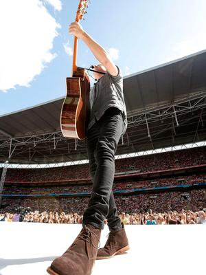 Niall Horan of One Direction performs on stage during Capital FM's Summertime Ball at Wembley Stadium, London. PRESS ASSOCIATION Photo. Picture date: Saturday June 6, 2015. See PA story SHOWBIZ Summertime. Photo credit should read: Yui Mok/PA Wire