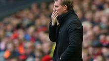 Brendan Rodgers has much to ponder after a poor week for his Liverpool team. Photo credit: Alex Livesey/Getty Images
