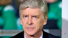 Arsene Wenger: Go out swinging. Photo credit: Andrew Matthews/PA Wire