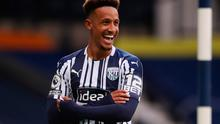 Callum Robinson of West Bromwich Albion celebrates