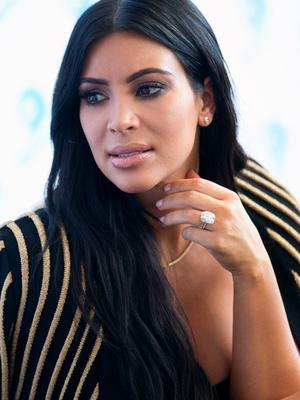 Kim Kardashian West attends the 'Cannes Lions Festival' on June 24, 2015 in Cannes, France.  (Photo by Marc Piasecki/GC Images)