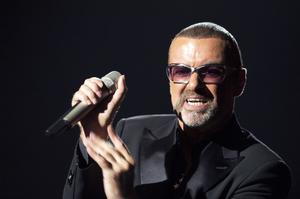 British singer George Michael performs on stage during a charity gala for the benefit of Sidaction, at the Opera Garnier in Paris, on September 9, 2012.AFP PHOTO MIGUEL MEDINA        (Photo credit: MIGUEL MEDINA/AFP/GettyImages)