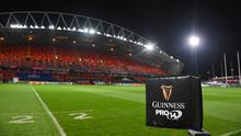 Munster's clash with Leinster at Thomond Park has been rescheduled for January 23. Photo by Ramsey Cardy/Sportsfile