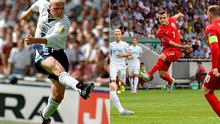 Jack Wilshere emulated Paul Gascoigne against Slovenia on Sunday Photo: GETTY IMAGES