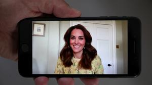 Kate Middleton launches her 'Hold Still' photography competition on May 07, 2020 in London, England
