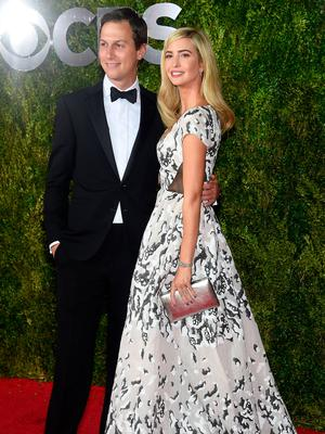 Ivanka Trump (R) and Jared Kushner attend the 2015 Tony Awards  at Radio City Music Hall on June 7, 2015 in New York City.  (Photo by Dimitrios Kambouris/Getty Images for Tony Awards Productions)