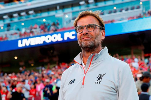Liverpool manager Jurgen Klopp on the club's pre-season tour in America